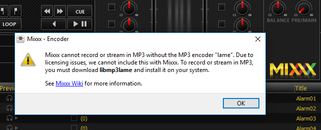 Streaming with the 'Mixxx' DJ software on both Shoutcast and